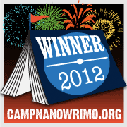 August 2012 Camp NaNoWriMo Winner